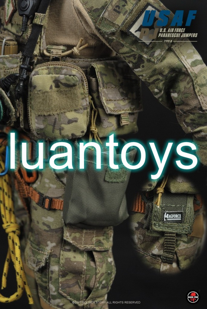 SOLDIER STORY USAF PJ (US AIR FORCE PARARESCUE JUMPERS) 美國空軍救援小組(TYPE B)-20