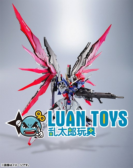 BANDAI METAL BUILD GUNDAM SEED DESTINY 機動戰士鋼彈 SEED DESTINY - ZGMF-X42S DESTINY GUNDAM 命運鋼彈-04