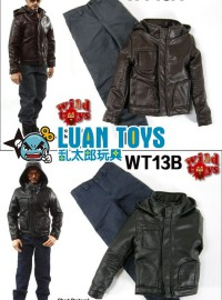 WILD TOYS WT13A、B LEATHER JACKET SET 皮夾克套裝配件組