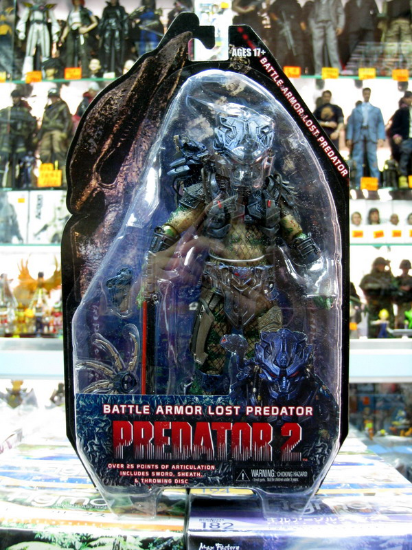 NECA PREDATORS 終極戰士 - BATTLE ARMOR LOST PREDATOR 失落終極戰士(戰甲版Ver.)-01
