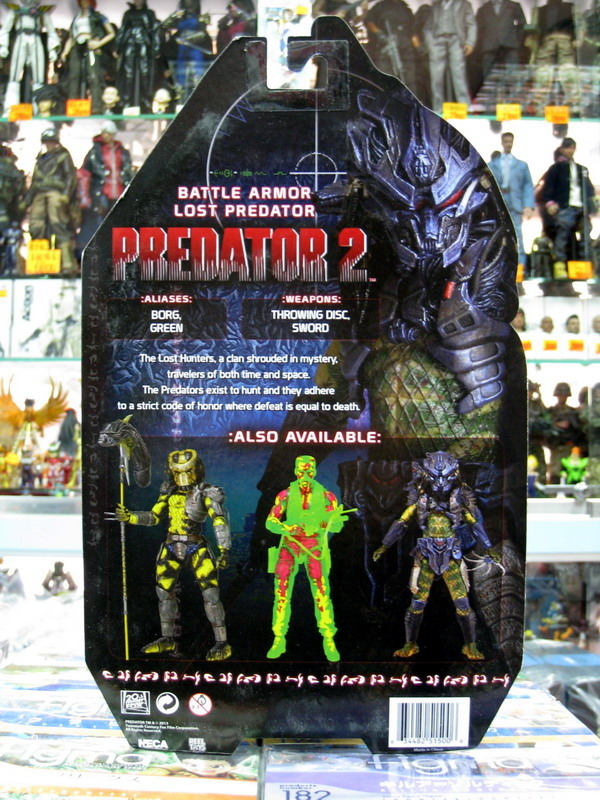 NECA PREDATORS 終極戰士 - BATTLE ARMOR LOST PREDATOR 失落終極戰士(戰甲版Ver.)-02