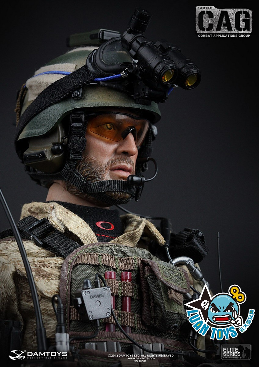DAMTOYS 發行,『78009 US ARMY DELTA FORCE 1st SFOD-D C A G(COMBAT