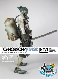 3A TOYS THREE A TOYS TOMORROW KING SEVEN BONES 七骨小隊 - TK SLICER YARO 明日帝-01
