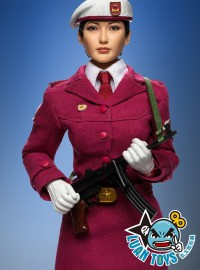PHICEN PL2014-33 FEMALE HONOR GUARD FROM CHINA MILITIA 中國民兵儀仗女兵-06