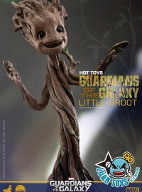 HOT TOYS MARVEL GUARDIANS OF THE GALAXY 星際異攻隊 樹精 - LITTLE GROOT 迷你格魯特-03