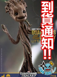 HOT TOYS MARVEL GUARDIANS OF THE GALAXY 星際異攻隊 樹精 - LITTLE GROOT 迷你格魯特(到貨通知)