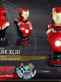 HOT TOYS 1.6 MARVEL AVENGERS AGE OF ULTRON 復仇者聯盟 2 奧創紀元 - MARK XLIII、MARK 43、馬克43胸像-02