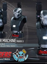 HOT TOYS 1.6 MARVEL AVENGERS AGE OF ULTRON 復仇者聯盟 2 奧創紀元 - WAR MACHINE MARK II 戰爭機器MK2胸像-02