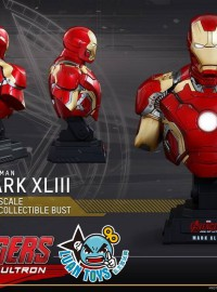 HOT TOYS MARVEL AVENGERS AGE OF ULTRON 復仇者聯盟 2 奧創紀元 - MARK XLIII、MARK 43、馬克43胸像-02