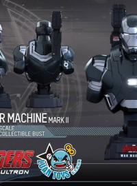 HOT TOYS MARVEL AVENGERS AGE OF ULTRON 復仇者聯盟 2 奧創紀元 - WAR MACHINE MARK II 戰爭機器MK2胸像-02