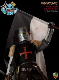 ACI WARRIORS CRUSADER TEMPLAR KNIGHTS 十字軍聖殿騎士 - TEMPLAR KNIGHT SUB-FIELD MARSHAL 聖殿騎士團軍士長 持旗手-04