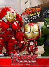 HOT TOYS COSBABY MARVEL AVENGERS AGE OF ULTRON 復仇者聯盟 2 奧創紀元 - HULK BUSTER 浩克破壞者 & MARK XLIII、MARK 43、馬克43 &  HULK 綠巨人 浩克-01