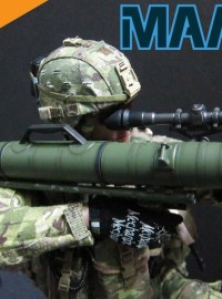 HOBBY NUTS HN-M3-1 M3 CARL G RECOILLESS RIFLE(MAAWS) 無後坐力炮配件組(OD色風化版Ver.)-04