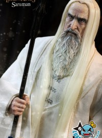 ASMUS TOYS THE LORD OF THE RINGS 魔戒 - SARUMAN THE WHITE 白袍巫夫 薩魯曼(CHRISTOPHER LEE 克里斯多福李飾演)-02