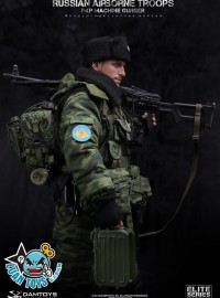 78025 DAMTOYS RUSSIAN AIRBORNE TROOPS PKP MACHINE GUNNER 俄羅斯空降部隊PKP機槍兵-01