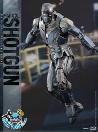 HOT TOYS MARVEL IRON MAN 3 鋼鐵人 3 - SHOTGUN 獵槍、MARK XL、MARK 40、馬克40-09