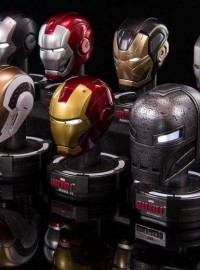 KING ARTS MARVEL IRON MAN 3 鋼鐵人 3 - COLLECTIBLE HELMET SERIES 6 鋼鐵人頭像第六彈-01