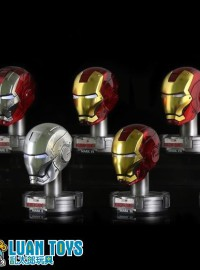KING ARTS MARVEL IRON MAN 3 鋼鐵人 3 - COLLECTIBLE HELMET SERIES 7 鋼鐵人頭像第七彈(電鍍特別版)-01