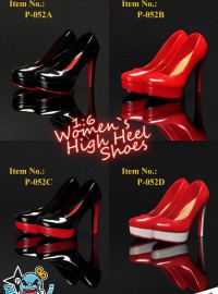 MC TOYS P-052 WOMEN'S HIGH HEEL SHOES 時尚高跟鞋配件組-01