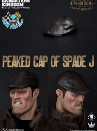 DAMTOYS GK001 GANGSTERS KINGDOM 黑幫王國 - PEAKED CAP OF SPADE J 黑桃 J帽子配件組(限定版)