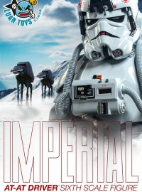 SIDESHOW STAR WARS EPISODE V THE EMPIRE STRIKES BACK 星際大戰五部曲 帝國大反擊 - IMPERIAL AT-AT DRVIER 帝國AT-AT駕駛員-01