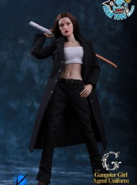 VIKING FS006 GANGSTER GIRL AGENT UNIFORM 黑色太妹特攻服-01