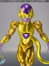 BANDAI 魂商店限定 S.H.Figuarts DRAGON BALL Z RESURRECTION F 七龍珠 Z 復活的F - GOLDEN FREEZA 黃金弗利沙-02
