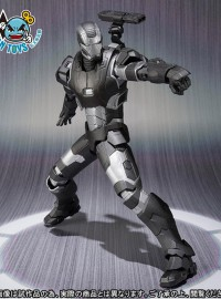 BANDAI 魂商店限定 S.H.Figuarts MARVEL AVENGERS AGE OF ULTRON 復仇者聯盟 2 奧創紀元 – WAR MACHINE MARK 2 戰爭機器 MK 2-05