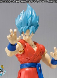 BANDAI 魂商店限定 S.H.Figuarts DRAGON BALL Z RESURRECTION F 七龍珠 Z 復活的F - 孫悟空(SS 超級賽亞人神)-02