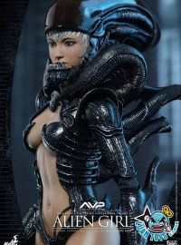 HOT TOYS AVP ALIEN VS PREDATOR 異形戰場 - ALIEN GIRL 異形女-10