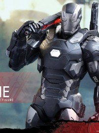 HOT TOYS MARVEL CAPTAIN AMERICA CIVIL WAR 美國隊長 英雄內戰 - WAR MACHINE MARK III 戰爭機器 MARK 3(DIECAST 合金版)、(DON CHEADLE 唐其鐸飾演)-03
