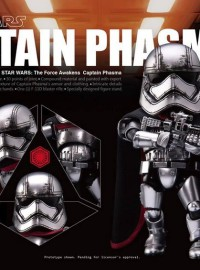 EGG ATTACK ACTION EAA-016 STAR WARS EPISODE VII THE FORCE AWAKENS 星際大戰七部曲 原力覺醒 – CAPTAIN PHASMA 法斯瑪隊長-01