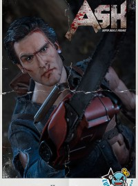 SIDESHOW EVIL DEAD 2 DEAD BY DAWN 鬼玩人 2 - ASH 安旭(BRUCE CAMPBELL 布魯斯坎貝爾飾演)-01