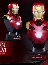 HOT TOYS 1.6 MARVEL CAPTAIN AMERICA CIVIL WAR 美國隊長 英雄內戰 - MARK XLVI、MARK 46、馬克 46胸像-02