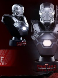 HOT TOYS 1.6 MARVEL CAPTAIN AMERICA CIVIL WAR 美國隊長 英雄內戰 - WAR MACHINE MARK III 戰爭機器 MARK 3胸像-02