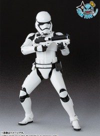 BANDAI S.H.Figuarts STAR WARS EPISODE VII THE FORCE AWAKENS 星際大戰七部曲 原力覺醒 – FIRST ORDER STORMTROOPER 第一軍團暴風突擊白兵-01