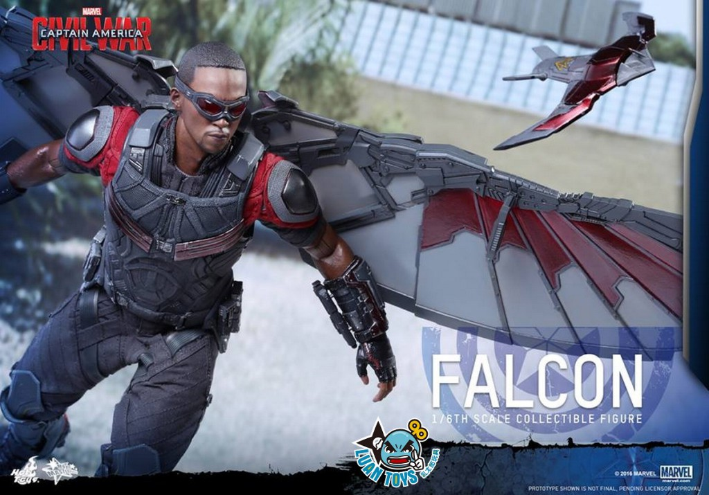 HOT TOYS MARVEL CAPTAIN AMERICA CIVIL WAR 美國隊長 英雄內戰 - FALCON 獵鷹、SAM WILSON 山姆威爾森(ANTHONY MACKIE 安東尼麥基飾演)-03