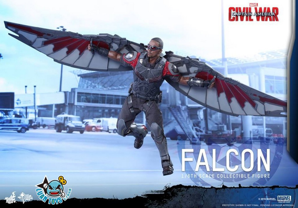 HOT TOYS MARVEL CAPTAIN AMERICA CIVIL WAR 美國隊長 英雄內戰 - FALCON 獵鷹、SAM WILSON 山姆威爾森(ANTHONY MACKIE 安東尼麥基飾演)-07