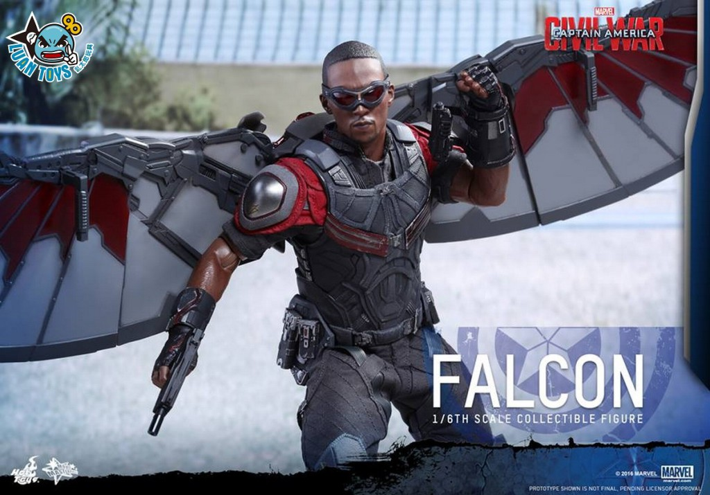 HOT TOYS MARVEL CAPTAIN AMERICA CIVIL WAR 美國隊長 英雄內戰 - FALCON 獵鷹、SAM WILSON 山姆威爾森(ANTHONY MACKIE 安東尼麥基飾演)-08