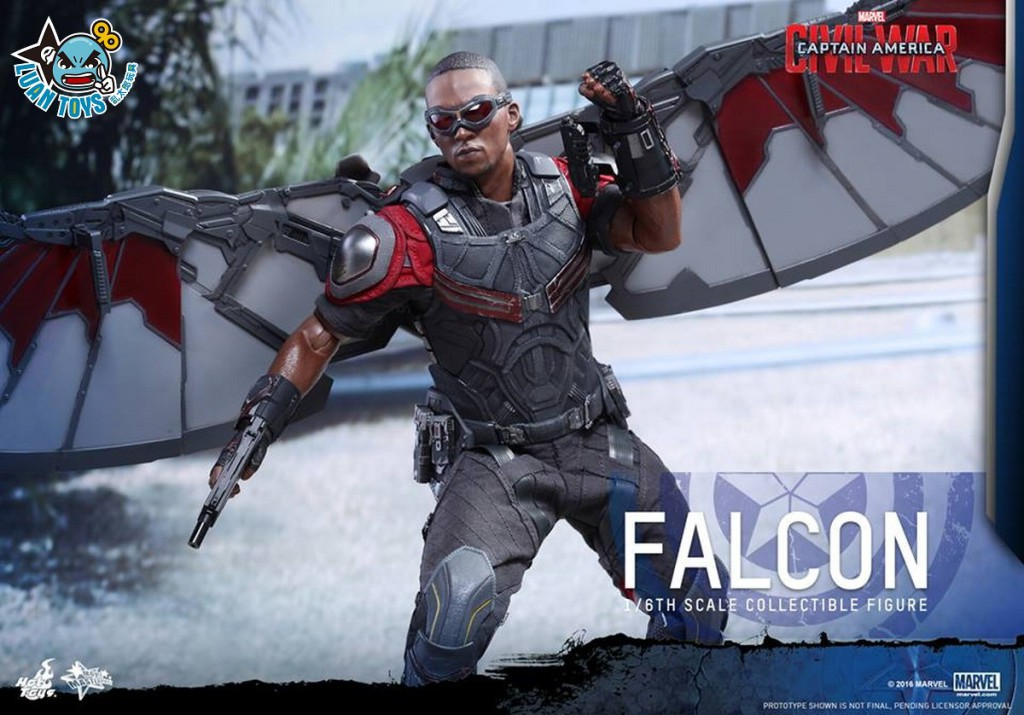 HOT TOYS MARVEL CAPTAIN AMERICA CIVIL WAR 美國隊長 英雄內戰 - FALCON 獵鷹、SAM WILSON 山姆威爾森(ANTHONY MACKIE 安東尼麥基飾演)-09