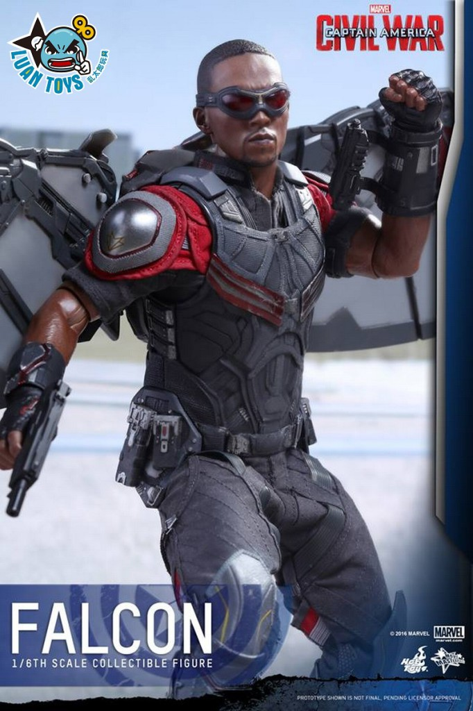 HOT TOYS MARVEL CAPTAIN AMERICA CIVIL WAR 美國隊長 英雄內戰 - FALCON 獵鷹、SAM WILSON 山姆威爾森(ANTHONY MACKIE 安東尼麥基飾演)-10