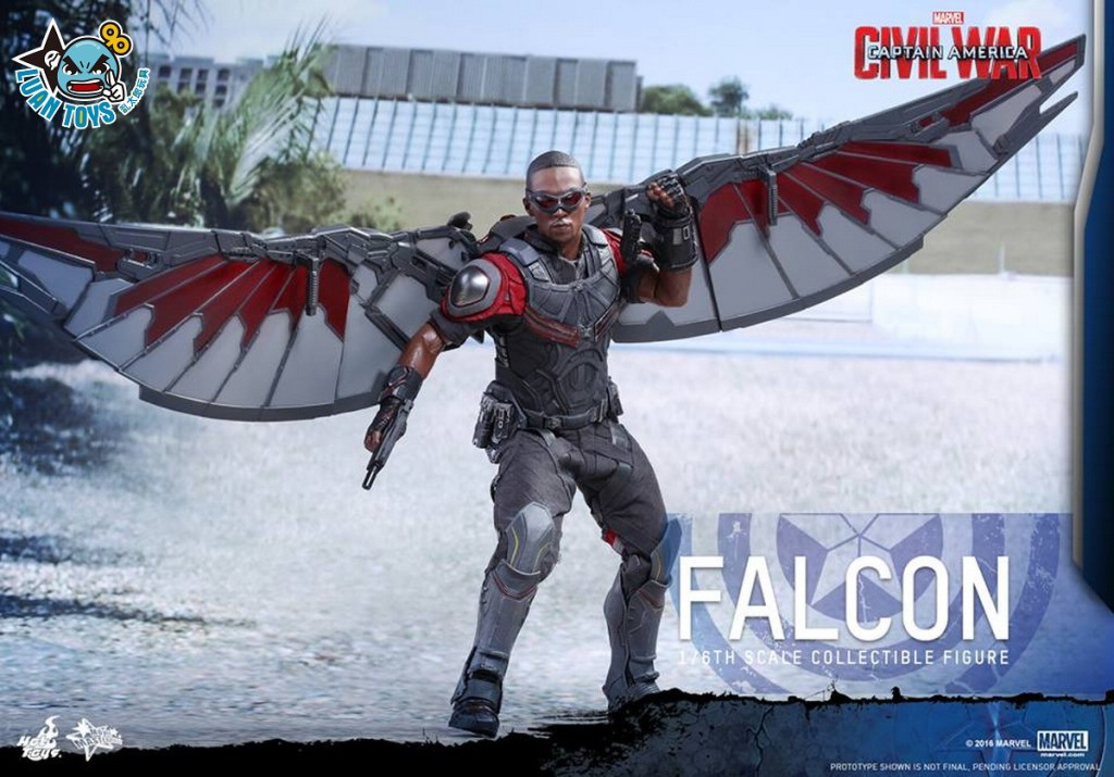 HOT TOYS MARVEL CAPTAIN AMERICA CIVIL WAR 美國隊長 英雄內戰 - FALCON 獵鷹、SAM WILSON 山姆威爾森(ANTHONY MACKIE 安東尼麥基飾演)-12