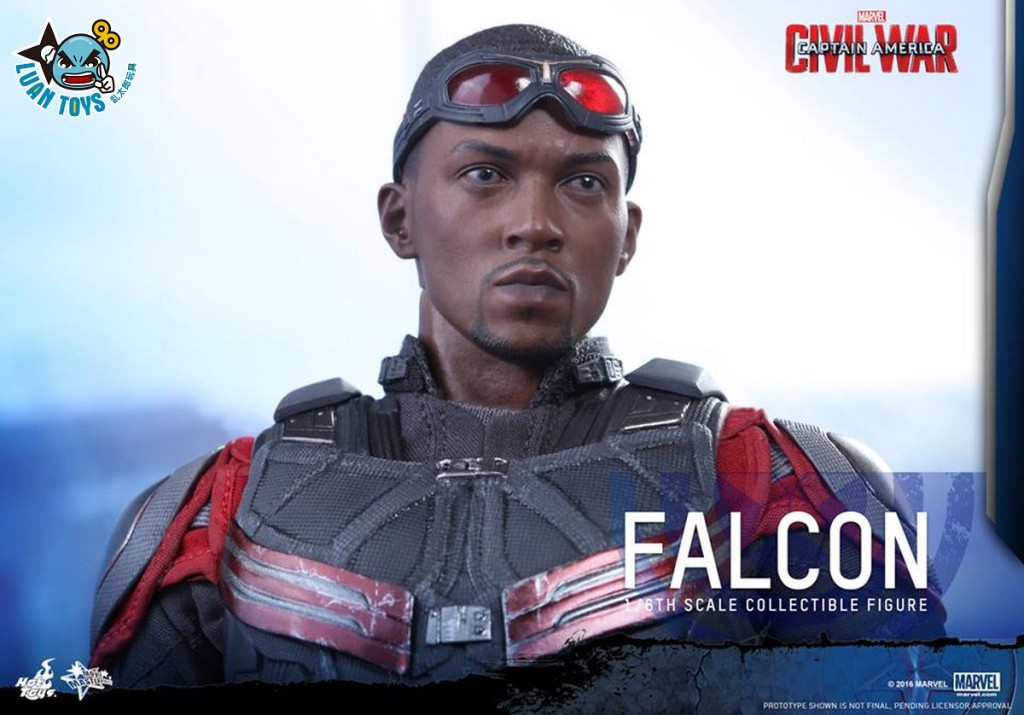 HOT TOYS MARVEL CAPTAIN AMERICA CIVIL WAR 美國隊長 英雄內戰 - FALCON 獵鷹、SAM WILSON 山姆威爾森(ANTHONY MACKIE 安東尼麥基飾演)-13