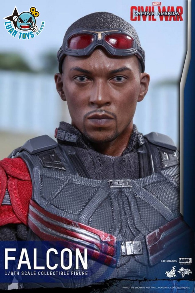 HOT TOYS MARVEL CAPTAIN AMERICA CIVIL WAR 美國隊長 英雄內戰 - FALCON 獵鷹、SAM WILSON 山姆威爾森(ANTHONY MACKIE 安東尼麥基飾演)-14
