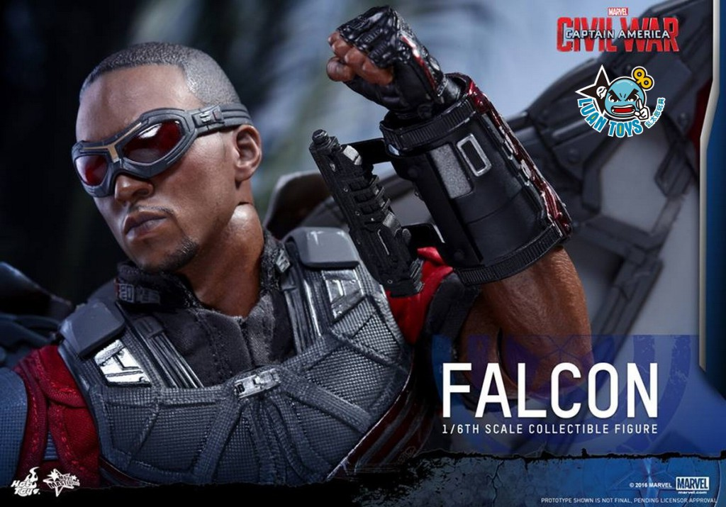 HOT TOYS MARVEL CAPTAIN AMERICA CIVIL WAR 美國隊長 英雄內戰 - FALCON 獵鷹、SAM WILSON 山姆威爾森(ANTHONY MACKIE 安東尼麥基飾演)-15