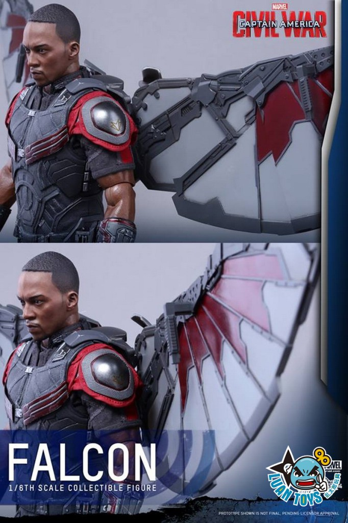 HOT TOYS MARVEL CAPTAIN AMERICA CIVIL WAR 美國隊長 英雄內戰 - FALCON 獵鷹、SAM WILSON 山姆威爾森(ANTHONY MACKIE 安東尼麥基飾演)-17