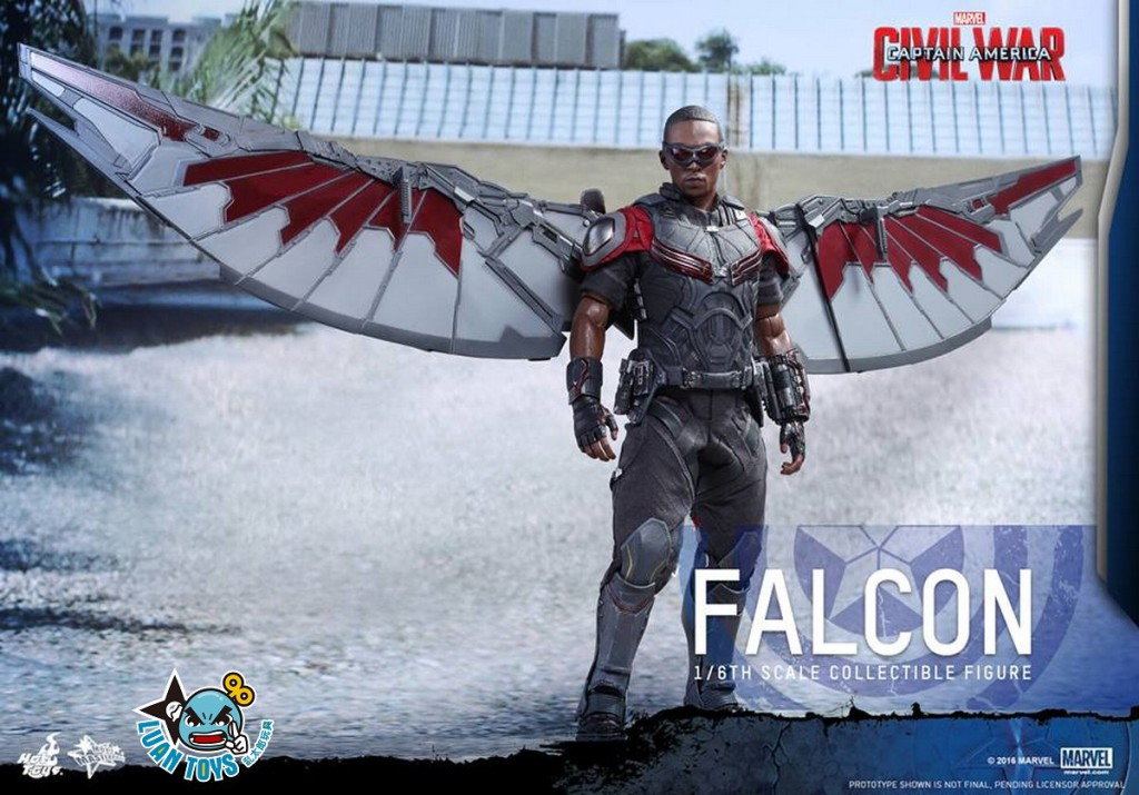 HOT TOYS MARVEL CAPTAIN AMERICA CIVIL WAR 美國隊長 英雄內戰 - FALCON 獵鷹、SAM WILSON 山姆威爾森(ANTHONY MACKIE 安東尼麥基飾演)-20