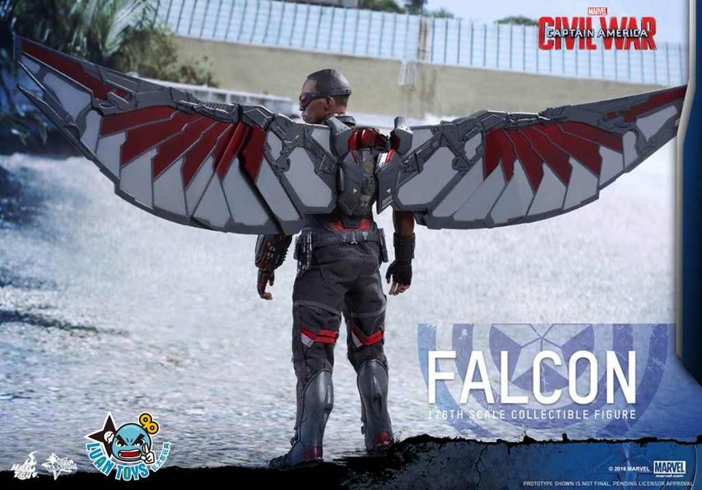 HOT TOYS MARVEL CAPTAIN AMERICA CIVIL WAR 美國隊長 英雄內戰 - FALCON 獵鷹、SAM WILSON 山姆威爾森(ANTHONY MACKIE 安東尼麥基飾演)-21