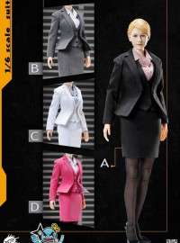 POPTOYS POP-X23 OFFICE LADY BUSINESS SUITS OL套裝服裝配件組-01