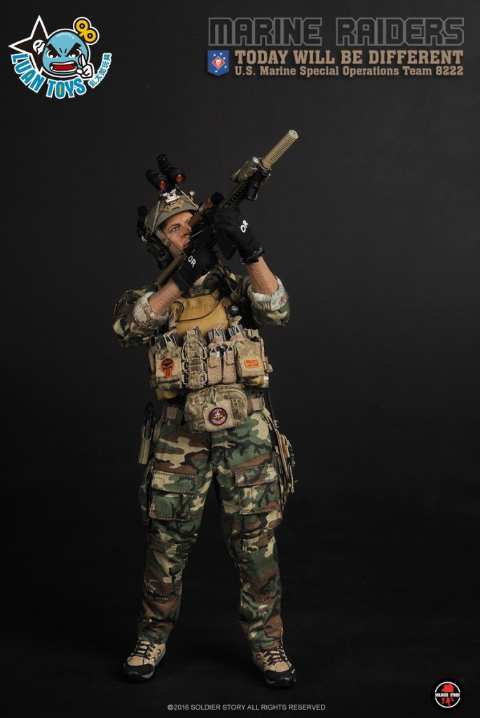 SOLDIER STORY USMC MSOT 8222、US MARINE RAIDERS SPECIAL OPERATIONS TEAM 8222 美國海軍陸戰隊特種作戰小隊 MSOT 8222-16